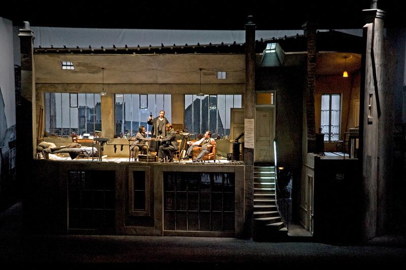 San Diego Opera presents Puccini's LA BOHEME, January/February, 2015. <br /> <br /> Photo courtesy of Philip Groshong/Cincinnati Opera.