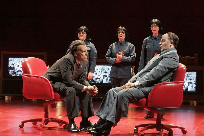 San Diego Opera presents Adams' NIXON IN CHINA. March, 2015.<br /> <br /> Photo copyright: Ken Howard/Opera Theatre of St. Louis