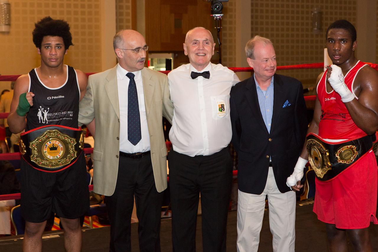 11 April 2015, Belfast Beltway Boxing Project.