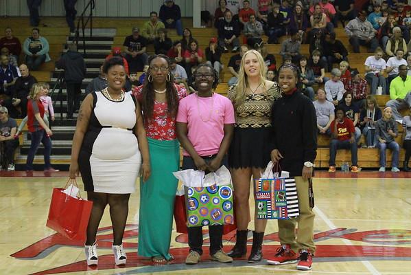 2015 Women's Basketball Sophomore Night