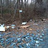 3/23/2015, Jon Merryman, Patapsco Watershed, AA County,  cleaned along River Road. He found bags of liter and trash.  Estimated weight 30 pounds.