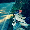 8/27/2015, Jon Merryman, Stoney run Watershed, Anne Arundel County, Picture 2 of 2, New junk dumped recently on Furnace Ave near the top of the hill. Pulled it out of the woods into a pile on the other side of the road.  Estimated  Weight recorded in previous picture.