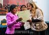 Bolivia : Niñas de sexto año de primaria obtuvieron el primer lugar en las Olimpiadas Científicas en la especialidad de robótica. Esmeralda Quispe y Eirika Mamani, de 12 y 11 años respectivamente, crearon un brazo hidráulico de material reciclable - Las pequeñas estudian en la Unidad Educativa Franz Tamayo / Esmeralda Quispe and Eirika Mamani created a hydraulic arm of recyclable material / Bolivien : Esmeralda Quispe und Eirika Mamani gewinnen den Hauptpreis am Wettbewerb Olimpiadas Científicas en la especialidad de robótica © Gustavo Verduguez/LATINPHOTO.org