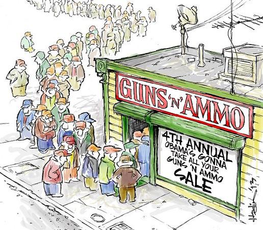 4th annual obama's gonna take your gun sale
