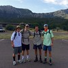 Tom with Christian, Eric and Steven : Big Bend : Aug