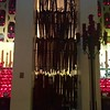 Touching site of the canes and braces left in the chapel after healing:St  Joseph's Oratory:Montreal:Oct