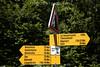 wanderweg - Hinweistafeln bei der Höhenklinik Allerheiligenberg © Patrick Lüthy/IMAGOpress.com