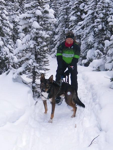 2016 12 30 Snowshoe Chester Lake