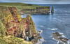 Duncansby Stacks near John O'Groats in Caithness