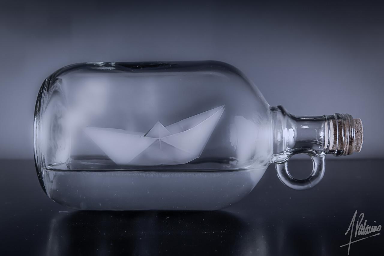 Calm Water in a Bottle.