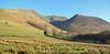 Blencathra above the Lake District village of Threlkeld.