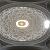 Ceiling of Borromini church, Rome