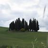 Iconic Tuscan landscape outside Montalcino