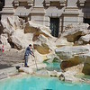 Daily fishing of coins out of the Trevi Fountain