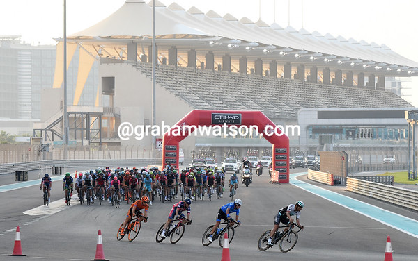Abu Dhabi Tour Stage 4:  Yas Marina Circuit, 143kms