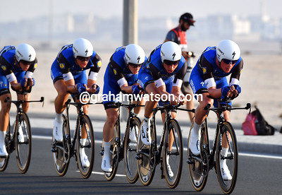 Elite Mens TTT, 40kms (Doha, Qatar)