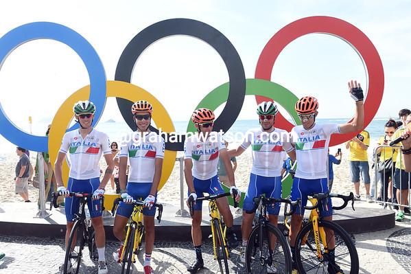 Olympic Games - Mens Road Race (Rio de Janeiro), 237kms