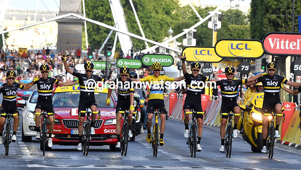 Tour de France Stage 21: Chantilly > Paris Champs Elysees, 113kms