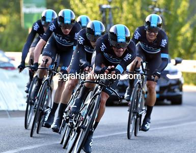 Vuelta a España Stage 1: Ourense > Ourense, 27.8kms (TT)