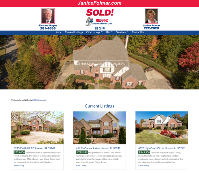 Wordpress-Theme-Janice-Folmar-REMAX-Real-Estate-Birmingham-Alabama-jr-customization