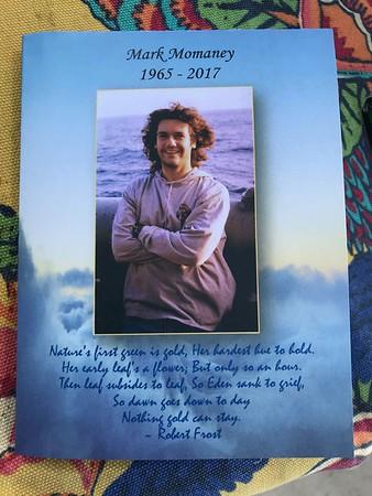 2017-11-04  Mark Momaney's Celebration of Life