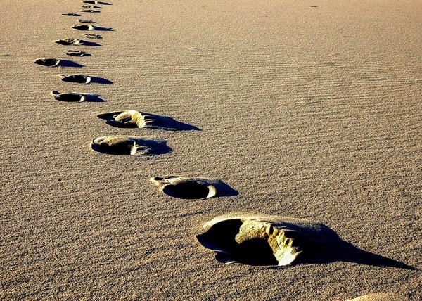 Steps to Nowhere at Eureka Dunes