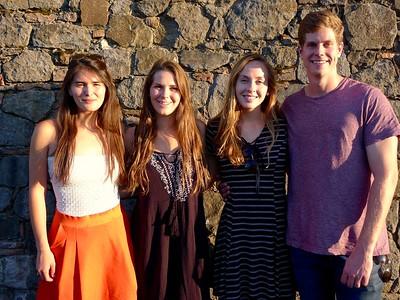 2017 July Napa trip with Jane's MIT friends