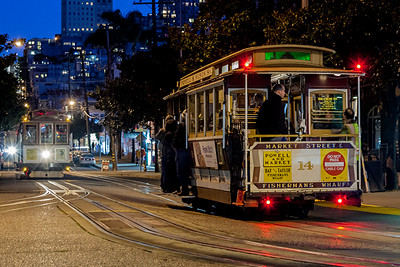 Powell/Mason Cable Car