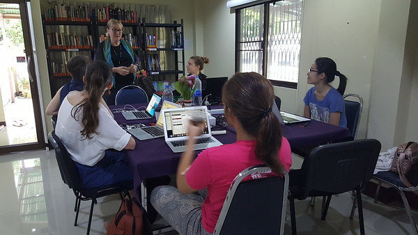 2017 Thailand Annette visit