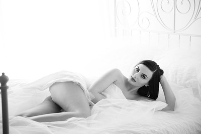 White Sheet Shoot
