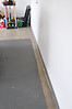 Had the garage floor redone - finally.  These are before - during and after photos.