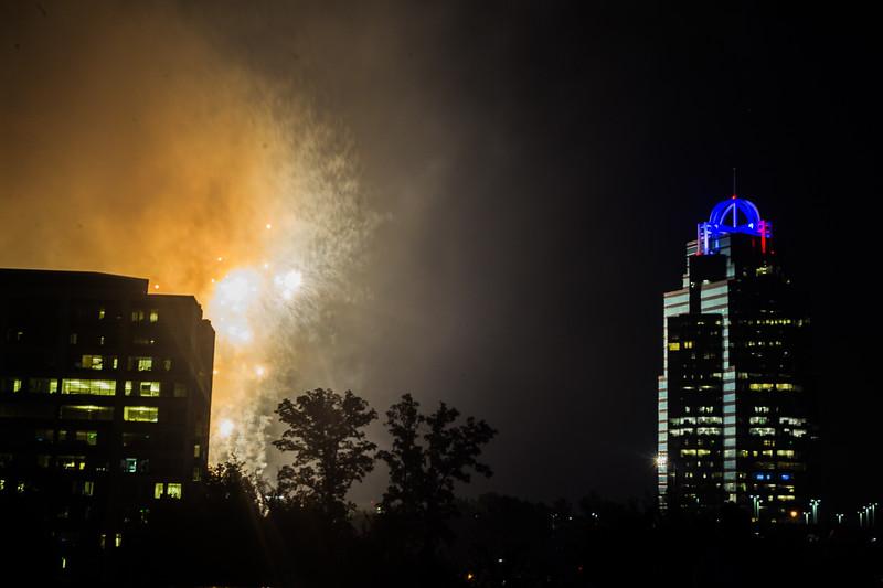 2018-7-4  Sandy Springs Fireworks