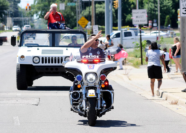 Don Knight   The Herald Bulletin<br /> Anderson Black Expo parade on Saturday.