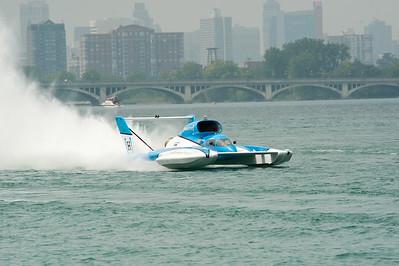 2018 Detroit Hydroplane Races 100