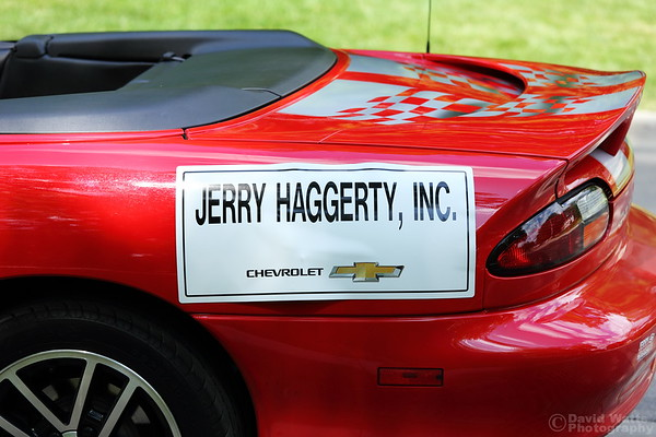 Jerry Haggerty Chevrolet Pace Car