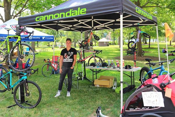 The Bike Hub Tent