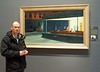 Hopper's Nighthawks in Chicago Museum of Art - my all time favourite painting