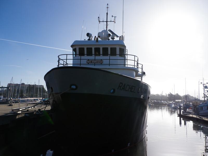 Monterey Bay Aquarium Research Institute's boat