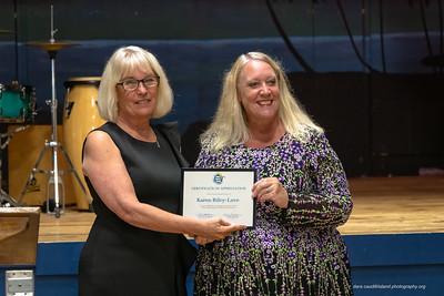 Chamber Certification of Appreciation to Karen Riley-Love