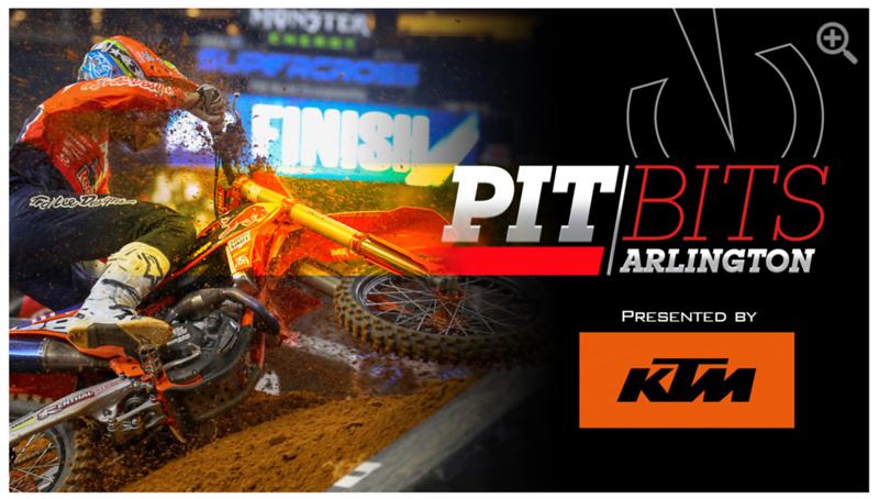 Vital MX Pit Bits - Arlington Supercross