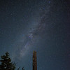 Milky Way viewed from Crater Lake
