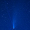 NEOWISE Comet at its closest approach to Earth, Palouse, Eastern Washington