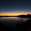 Sunrise twilight at Crater Lake