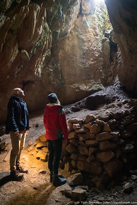 James and Naomi in Mass Cave