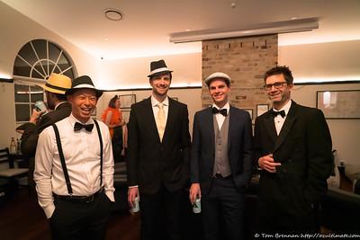Mark, Ant, Pete, Sacha