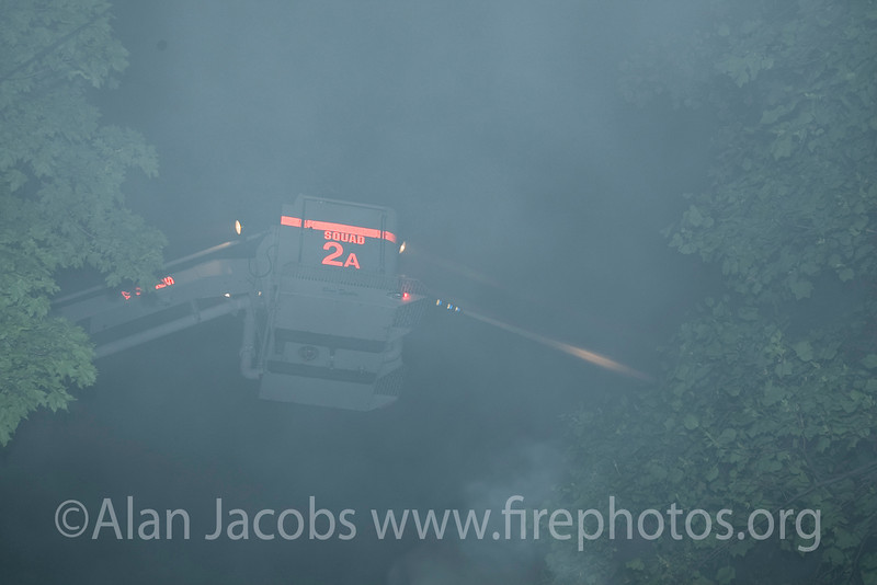 Just a small idea of what these guys endure. The street was jut filled with smoke, at times thick.