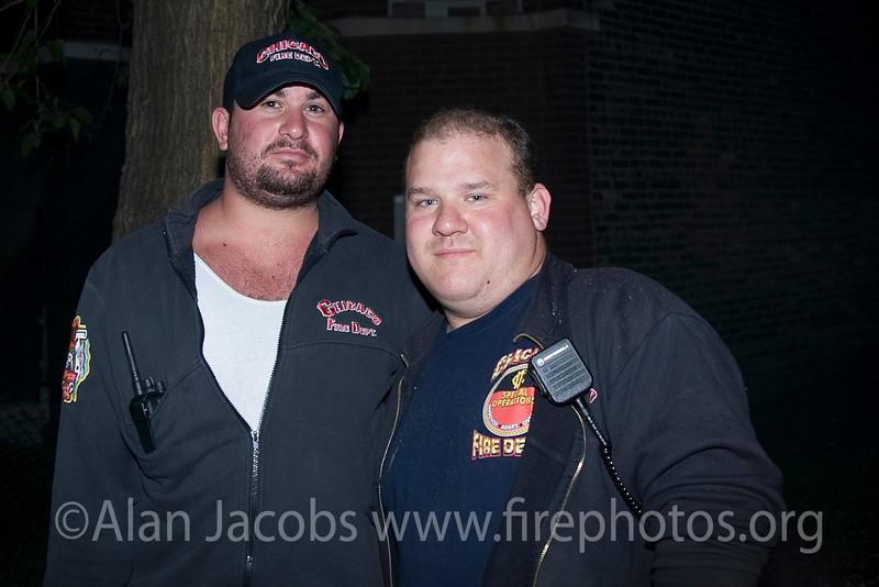 Frank Vulich & Ray Carl of the 5-1-1 Rehab Unit