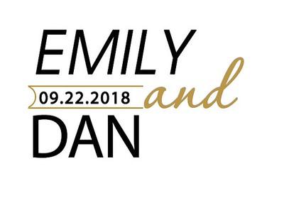 22-09-2018 ~ Emily and Dan Wedding