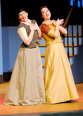 "Don Knight | The Herald Bulletin<br /> Anderson University's Boze Lyric Theatre's production of ""The Unicorn in the Garden"" and ""Meanwhile Back at Cinderella's."""