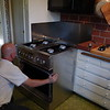 The new stove arrives (2007)
